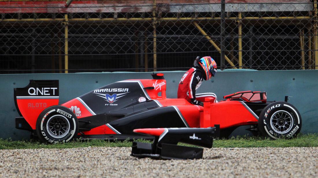 Timo Glock GP China 2012