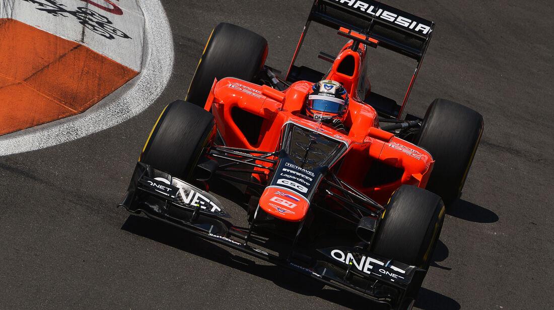 Timo Glock GP Europa 2012