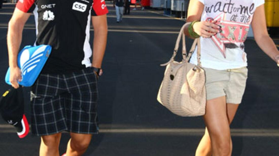 Timo Glock - GP Italien - Monza - 9. September 2011