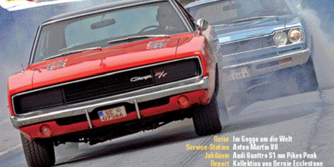 Titel Motor Klassik, Heft 11/2007