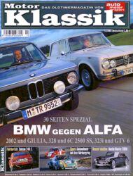 Titel Motor Klassik, Heft 12/2003