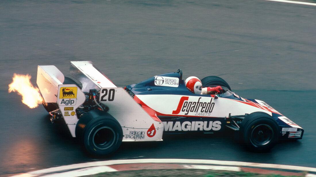 Toleman TG184 - Verrückte Formel 1-Ideen