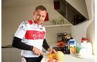 Tom Kristensen, Frühstück