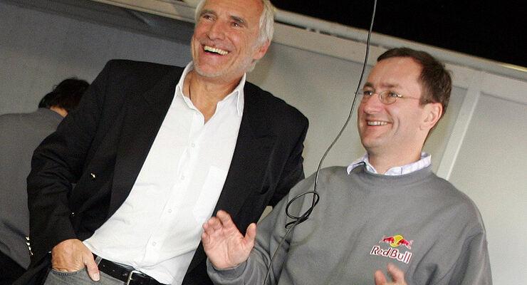 Tony Purnell und Dietrich Mateschitz