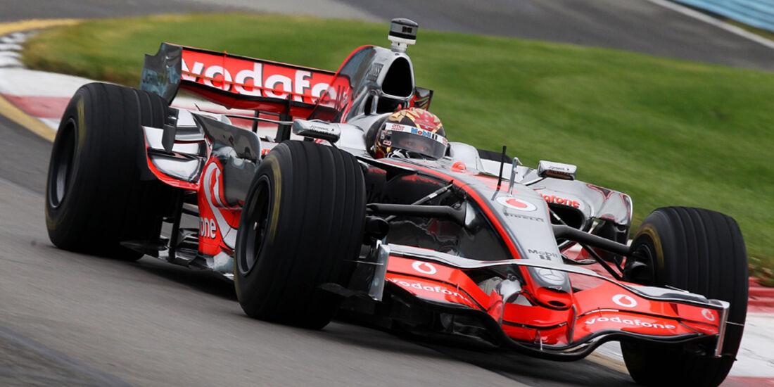 Tony Stewart Formel 1 F1 MP4-23 Mclaren 2011