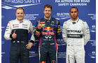 Top 3 - Formel 1 - GP Kanada - 8. Juni 2013