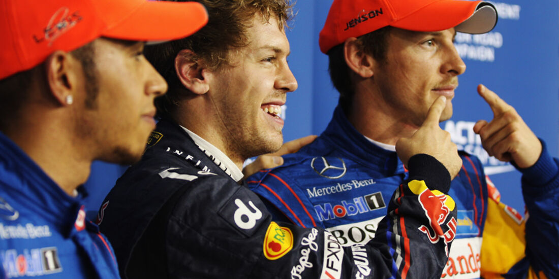 Top 3 - GP Abu Dhabi - Qualifying - 12.11.2011