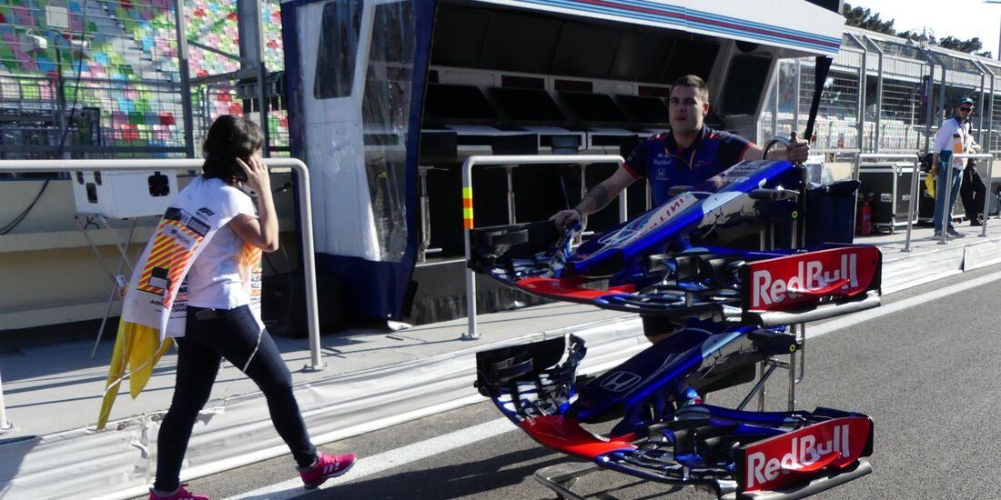 Toro Rosso - Formel 1 - GP Aserbaidschan - 26. April 2018