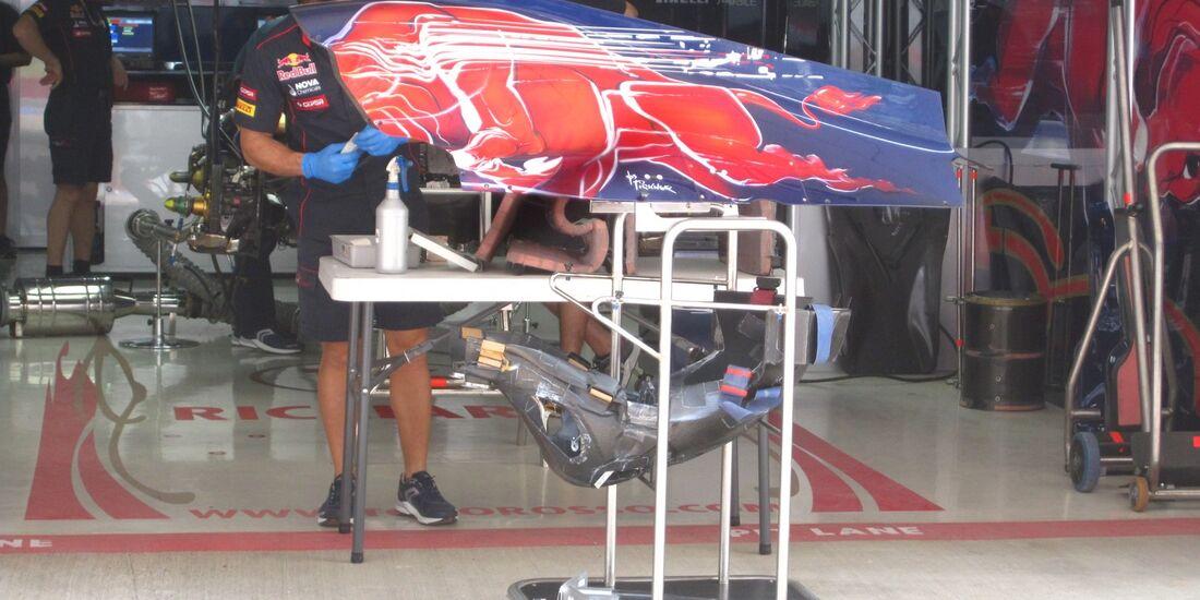 Toro Rosso  - Formel 1 - GP Indien - 25. Oktober 2012