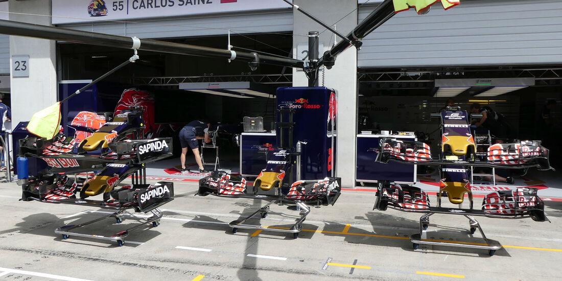 Toro Rosso - Formel 1 - GP Österreich - 30. Juni 2016