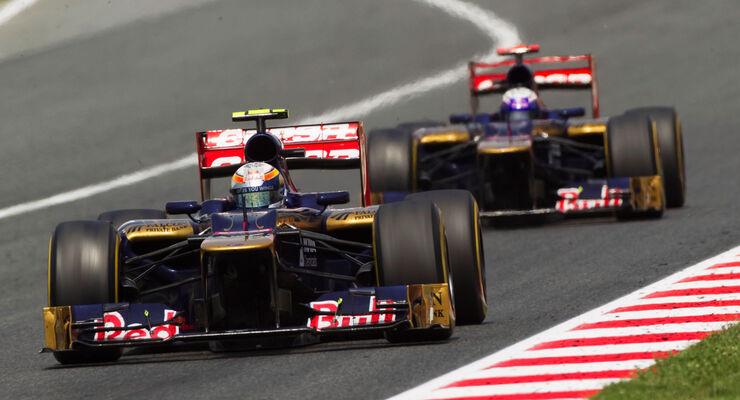 Toro Rosso Formel 1 GP Spanien 2012