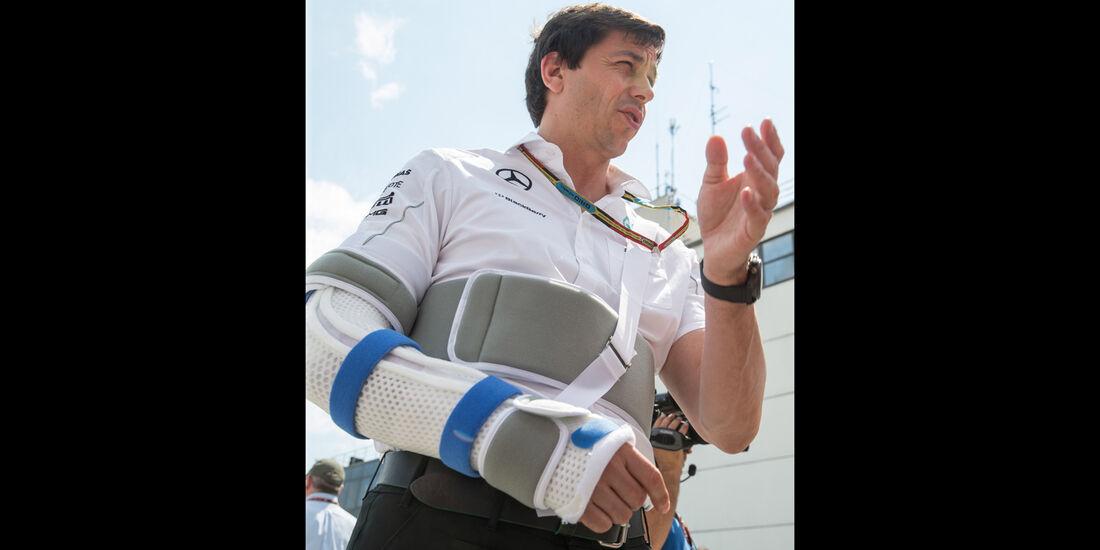Toto Wolff - GP Ungarn 2014 - Danis Bilderkiste