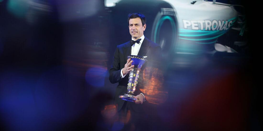 Toto Wolff - Mercedes - FIA - Preisverleihung - St. Petersburg