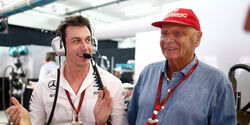 Toto Wolff - Niki Lauda - F1 - 2017