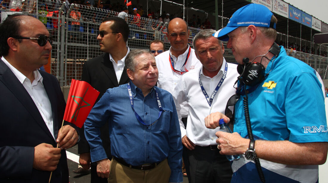 Tourenwagen-WM Marokko WTCC 2010 FIA-Präsident Jean Todt
