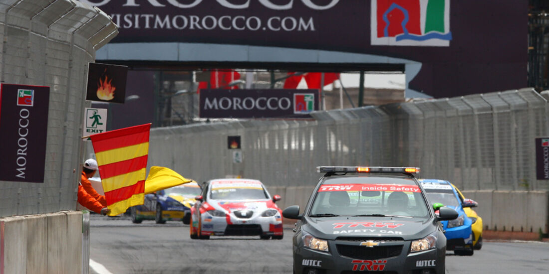 Tourenwagen-WM Marokko WTCC 2010