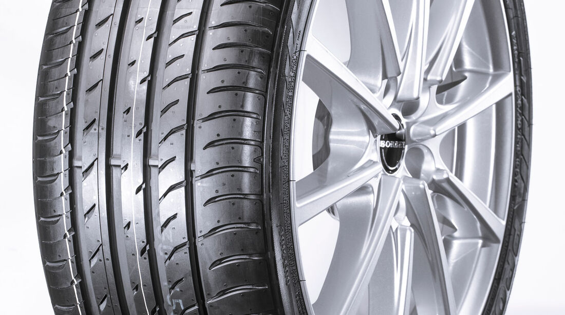 Toyo T1 S plus, Sommerreifen-Test 2016, Reifengröße 235/40 R18 Y, Ford Focus ST, Test