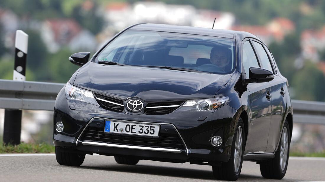 Toyota Auris 2.0 D-4D, Frontansicht