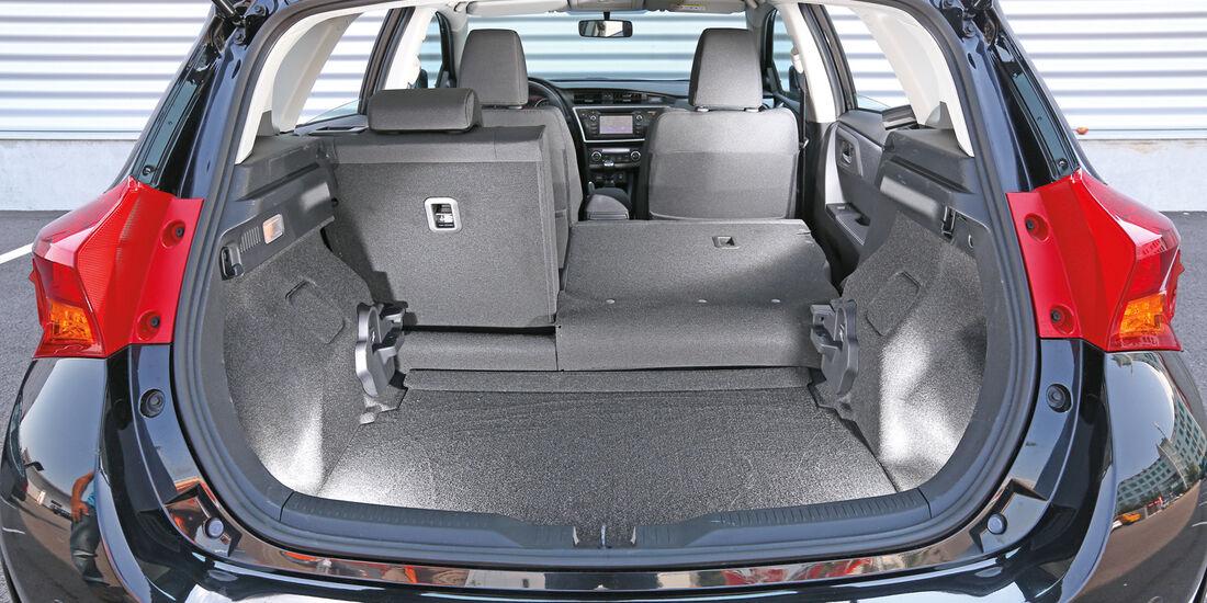 Toyota Auris 2.0 D-4D, Kofferraum