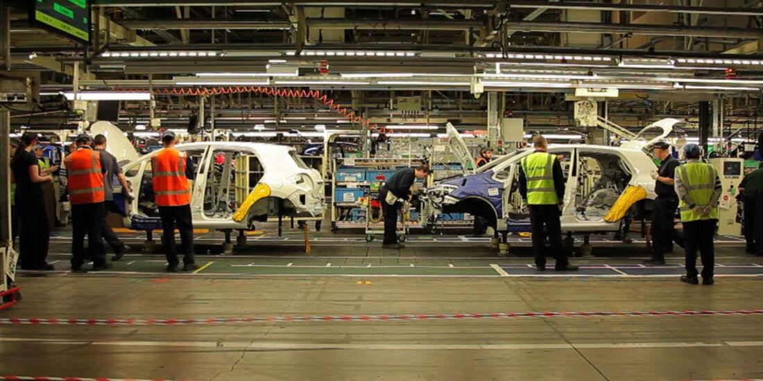 Toyota Auris Produktion