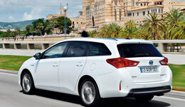 Toyota Auris Touring Sports, Heckansicht