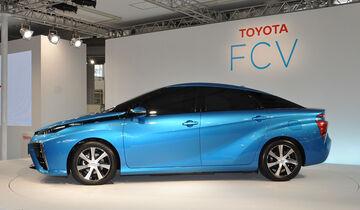 Toyota FCV Serienversion Brennstoffzelle