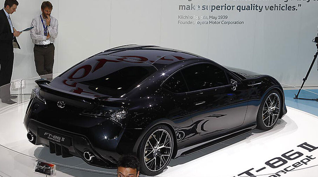 Toyota FT-86 II Concept, Messe, Genf, 2011