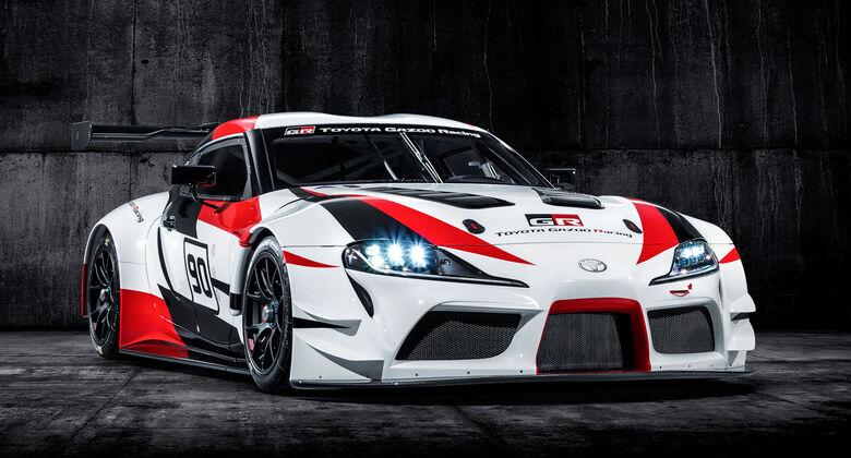 Toyota GR Supra Racing Concept (2018) Auto Salon Genf