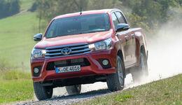 Toyota Hilux Pick-up 2.4D Double Cab 4x4, Frontansicht