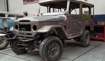 Toyota Land Cruiser J4 Oldtimer FJ Company