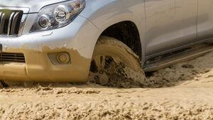 Toyota Landcruiser 3.0 D-4D, Rad, Felge, Wasserdurchfahrt