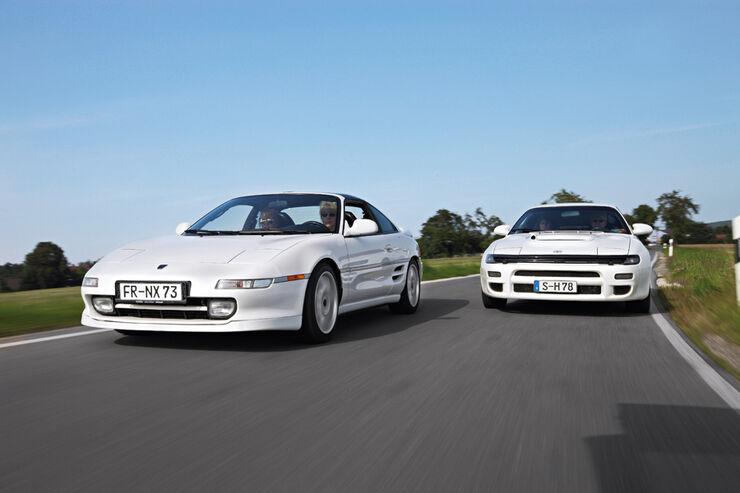 Toyota MR2 Turbo, Toyota Celica Turbo 4WD Carlos Sainz, Front