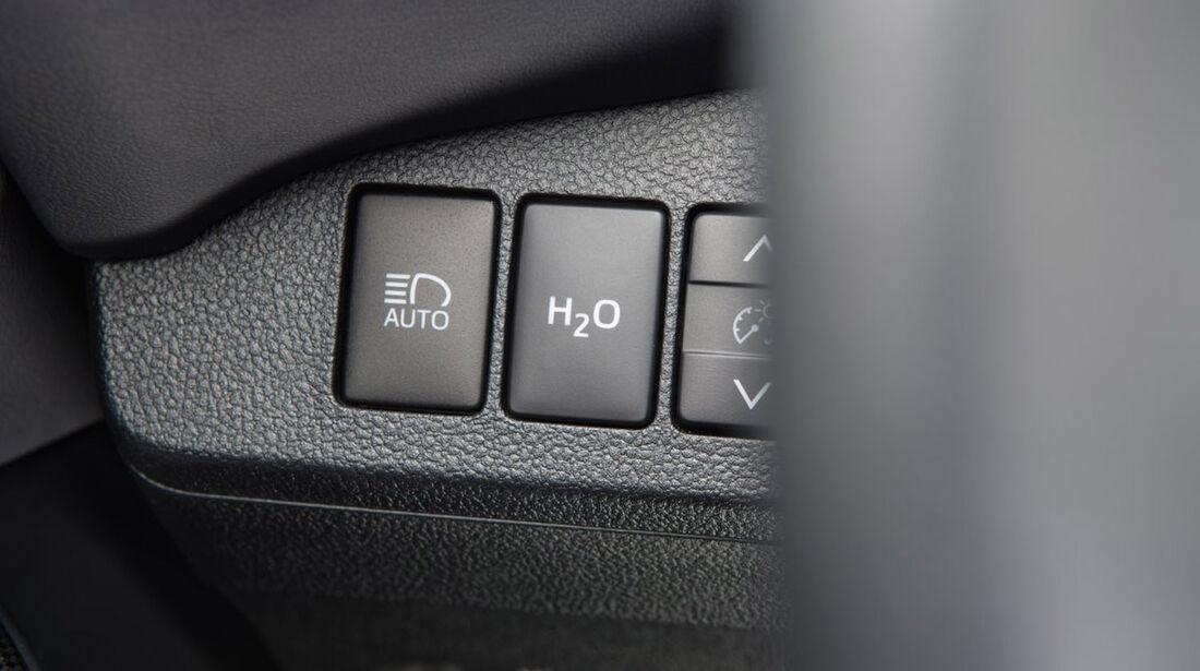 Toyota Mirai, ams, Fahrbericht, Klimaautomatik
