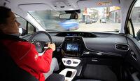 Toyota Prius, Cockpit, Fahrersicht