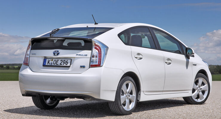 Toyota Prius, Heckansicht