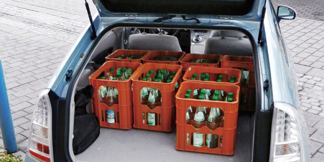 Toyota Prius Plug-in Hybrid, Kofferraum