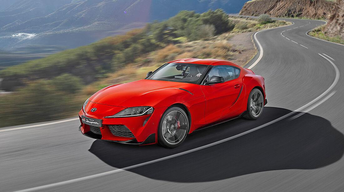 Toyota Supra - Serie - Coupes bis 75000 Euro - sport auto Award 2019