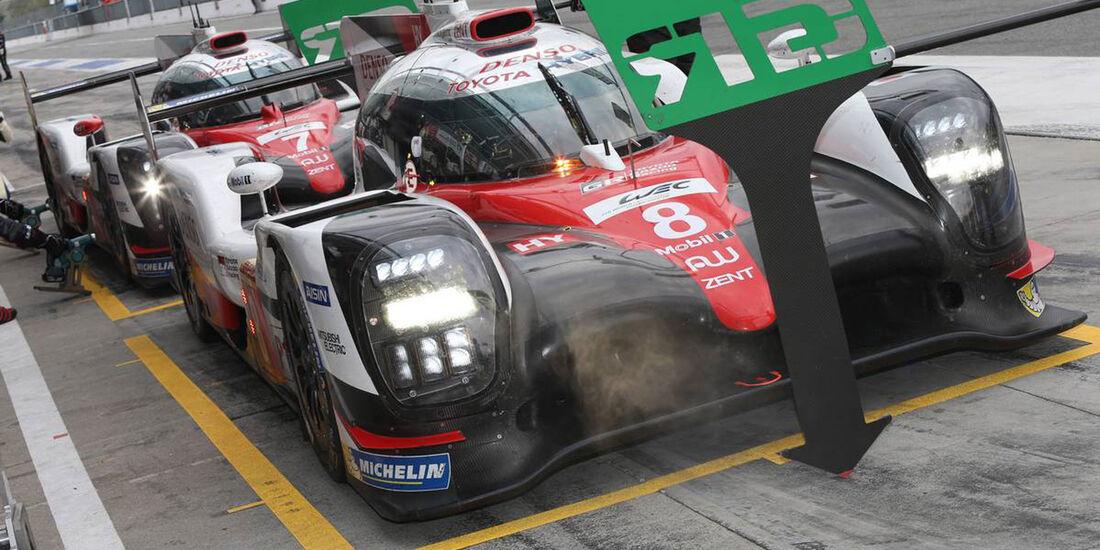 Toyota TS050 Hybrid (2017) - Sportwagen-WM - WEC - Le Mans