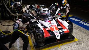 Toyota TS050 Hybrid - Startnummer #7 - 24h-Rennen Le Mans - Sonntag - 16.06.2019