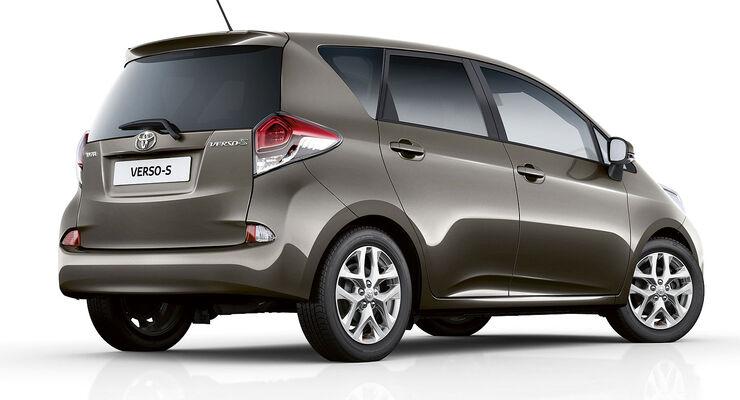toyota verso s facelift minivan mit dezenter. Black Bedroom Furniture Sets. Home Design Ideas