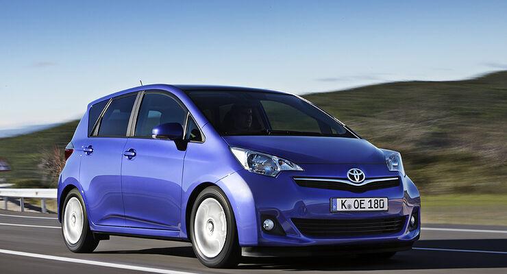 Toyota Verso S, Innenraum