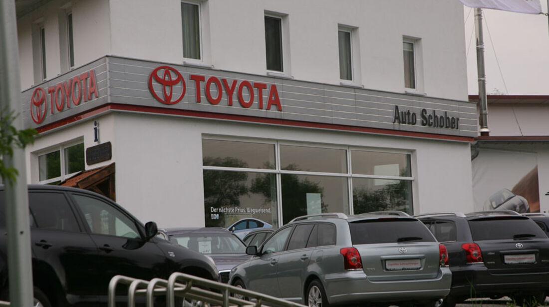 Toyota-Werkstatt, Autohaus Schober