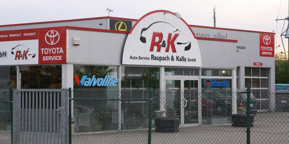 Toyota-Werkstatt, Raupach & Kalla