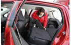 Toyota Yaris 1.4D-4D, Rücksitz, umklappen