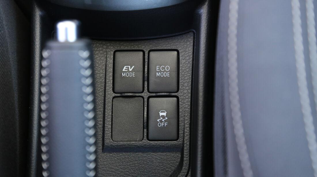 Toyota Yaris 1.5 Hybrid Comfort, Bedienelemente