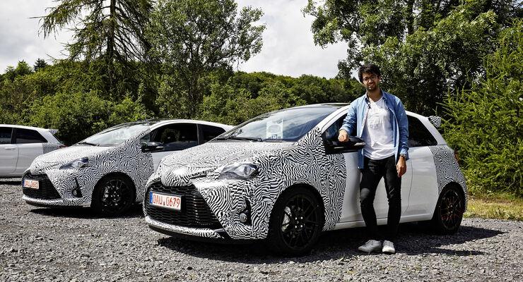Toyota Yaris GRMN Prototyp, Fahrbericht, Nürburgring