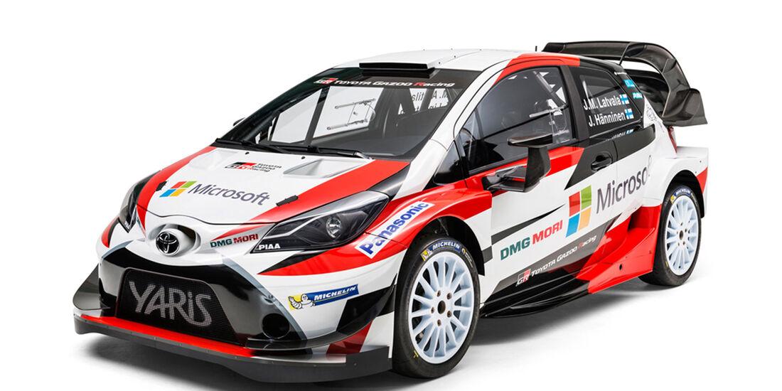 Toyota Yaris WRC - Rallye-WM 2017