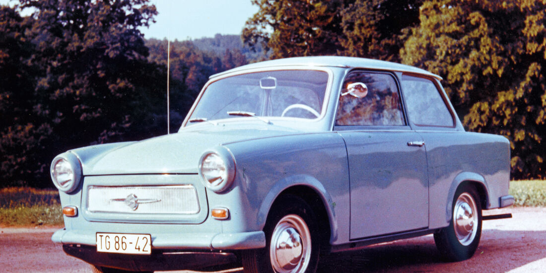 Trabant 601, Seitenansicht