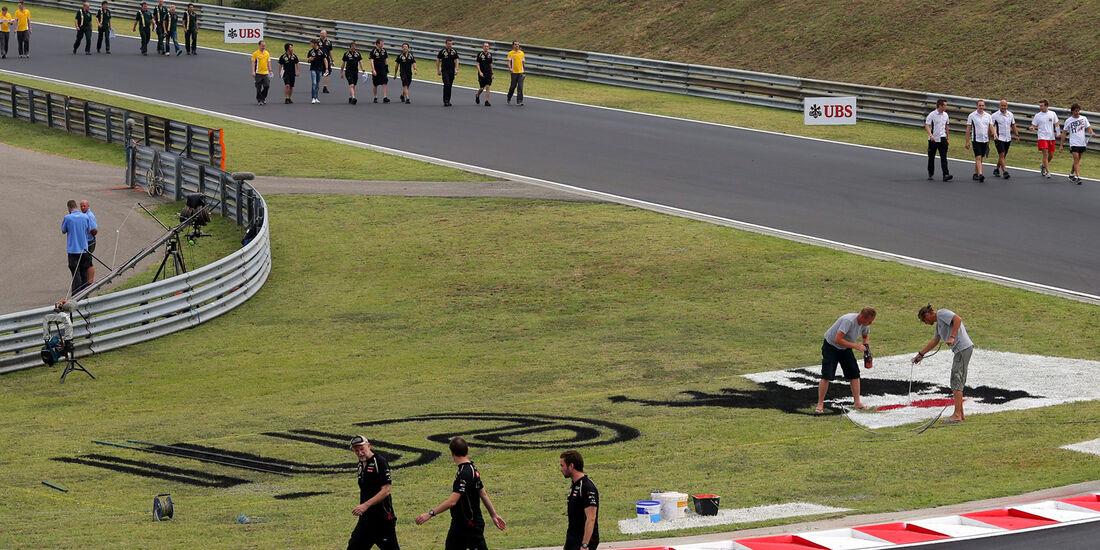 Trackwalk - Formel 1 - GP Ungarn - Budapest - 26. Juli 2012
