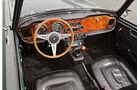 Triumph TR 4A, Cockpit